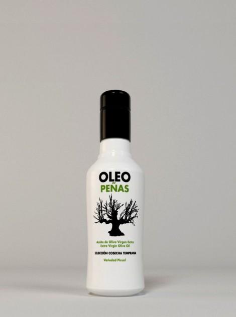 Pack 28 botellas 250ml Aceite de Oliva Virgen Extra Oleopeñas Cosecha Temprana